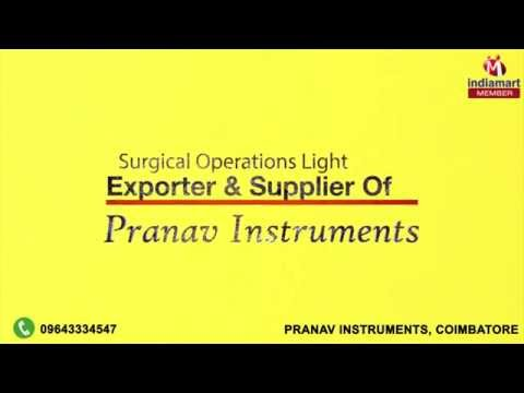 Surgical Operations Light by Pranav Instruments, Coimbatore