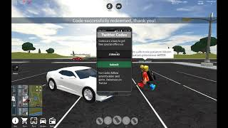 Roblox Vehicle Simulator- all 6 codes