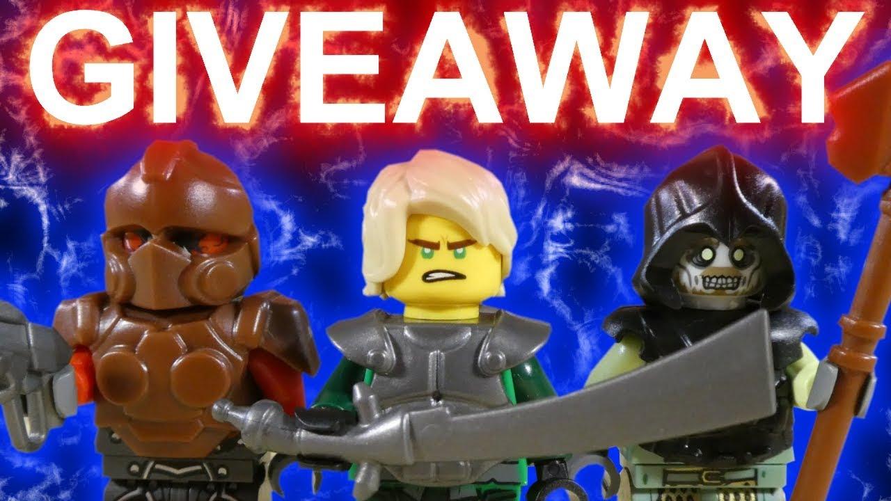 !! GIVEAWAY !!  + LEGO LLOYD BATTLE