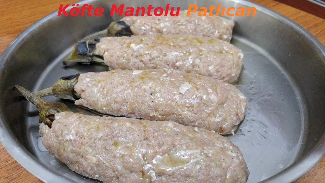 KÖFTE MANTOLU PATLICAN