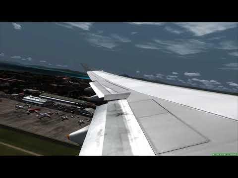 Take Off Bali Boeing 747-400 ++ FSX
