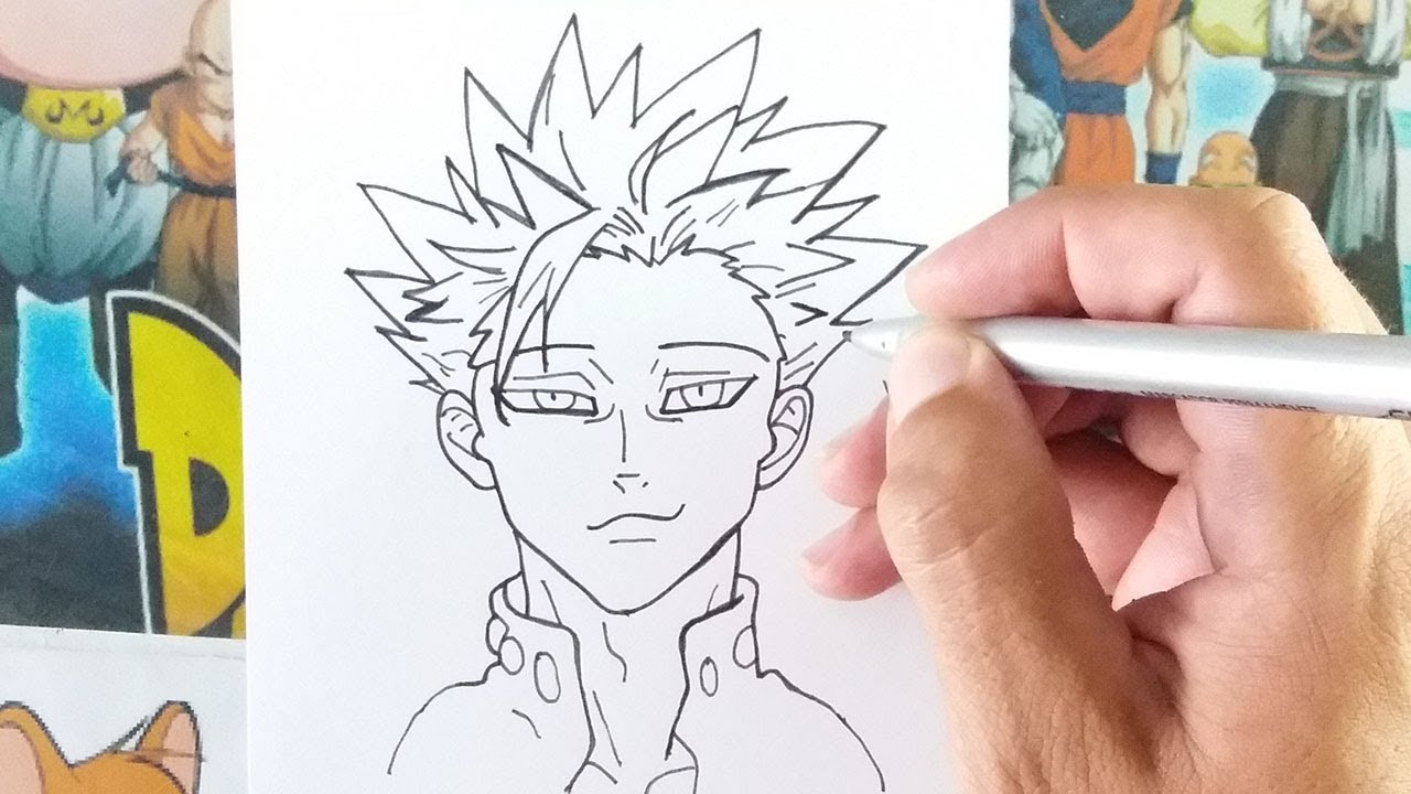 Como Desenhar Ban Nanatsu No Taizai Youtube