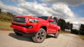 2016 Toyota Tacoma Review - First Drive