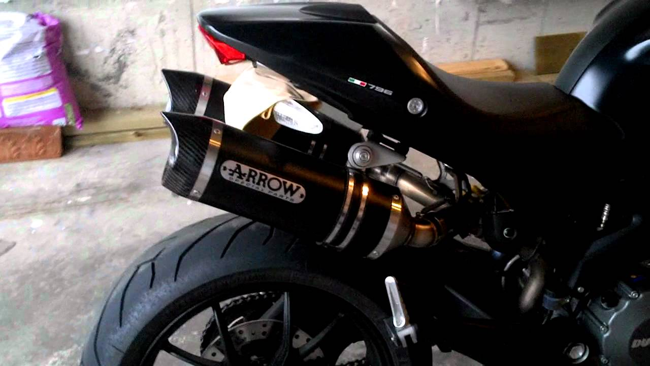 Ducati Monster Arrow Exhaust
