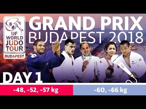 Judo Grand-Prix Budapest 2018: Day 1