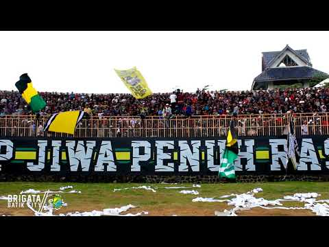 Brigata Batik City - PERSIP Pekalongan vs persibat - Liga 2 Indonesia (29-7-17)