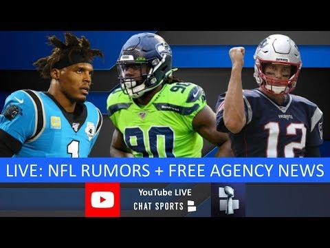 NFL Free Agency Live - Latest Signings, Rumors & News On Jadeveon Clowney, Cam Newton & Trades