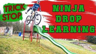 LEARNING CRAZY TRICK - ΝINJA DROP