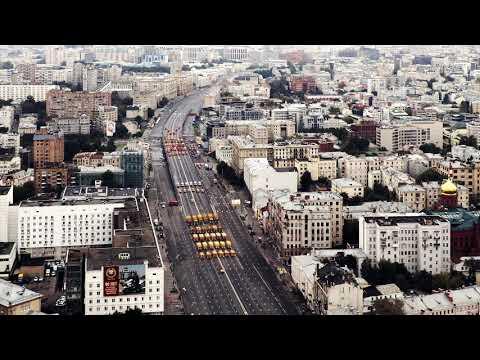 Первый московский парад городской техники