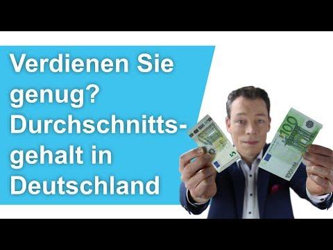 Gehaltsvergleich: Verdienen Sie Genug? Durchschnitts-Gehalt In Deutschland 2018/2019 // M. Wehrle