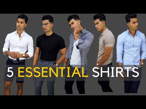 5 Shirts Every Guy SHOULD Own!