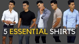 5 Shirts Every Guy SHOULD Own! thumbnail