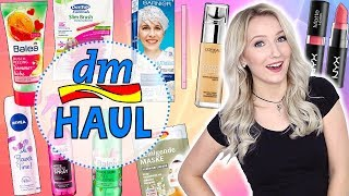 XXL DM HAUL AUGUST 2017 - NEUE PRODUKTE & FAILS... TheBeauty2go