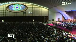 Concerto in Aula Paolo VI - Servizio TG1