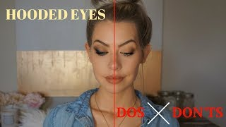 Hooded Eyes Dos & Don