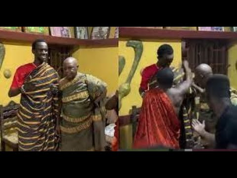 Download WOW! Check the moment Black Sherif became a new respected king in Ahafo Goaso and see why