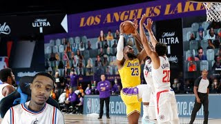 FlightReacts Los Angeles Lakers vs Los Angeles Clippers - Full Game Highlights | July 30, 2020!