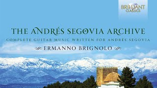 The Andrés Segovia Archive: cd 1-4
