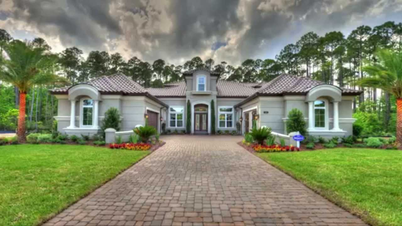 Ici homes official site - Biltmore Ii New Custom Home From Ici Homes At Twenty Mile Nocatee Youtube