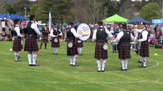 Perth Highland Pipe Band - Armadale 2015 - Medley