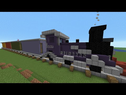 I Gave 100 Minecraft Players One Carriage Each On A Train To Build Anything