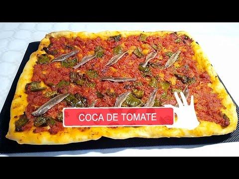 Masa coca de tomate