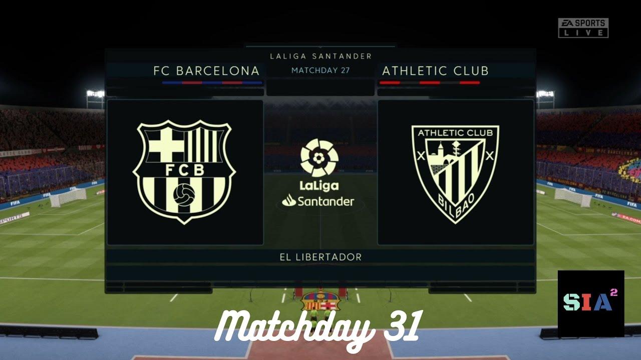 Barcelona vs Athletic Bilbao   Matchday 31   Camp Nou ...