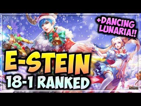 HEROES EVOLVED - E-STEIN GAMEPLAY | HIGH KDA | LUNARIA DANCING | MARKSMAN AD BUILD