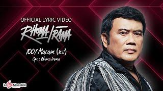 Download Lagu Rhoma Irama - 1001 Macam N.V (Official Lyric Video) mp3