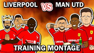 🔴Liverpool vs Man Utd🔴Training Montage (2021 Preview Parody)