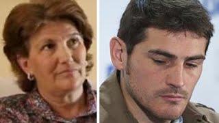 La madre de Iker Casillas habla de Sara Carbonero y su nueva pareja