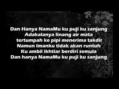 Caliph Buskers - Hanya NamaMu (Lirik)