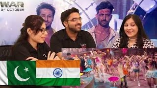 Jai Jai Shivshankar Song | War | Hrithik Roshan | Tiger Shroff | PAKISTAN REACTION