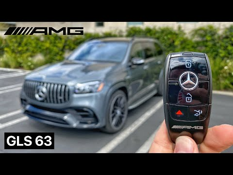 The 2021 Mercedes-AMG GLS 63 SUV Is 603HP of Pure Excess (In-Depth Review)