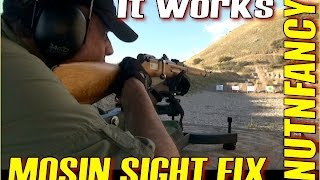 Fix Your Mosin Nagant Sights Once and For All