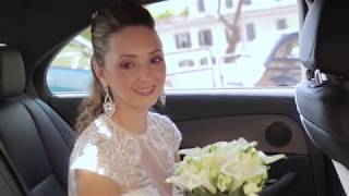 Свадебная съемка в Риме (Wedding in Italy, Rome)