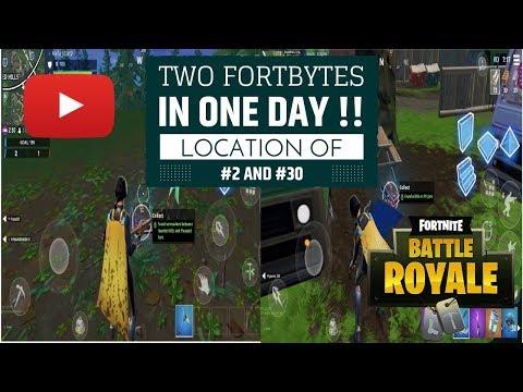 FORBYTE #2 and #30 Location | FORTNITE Battle Royale | SSSKreative