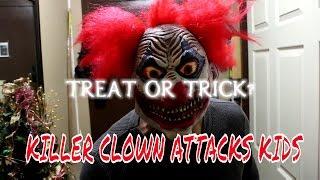 killer clown attacks kids