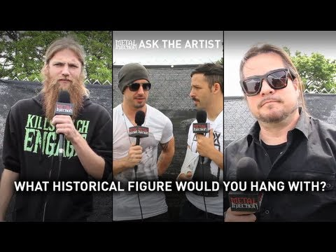 ASK THE ARTIST: What Historical Figure Would You Hang With? on Metal Injection (Orion 2013)