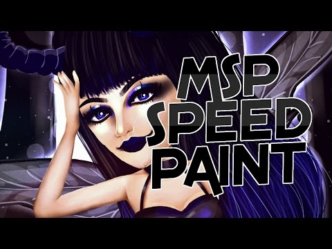 MSP Themes: Dark Fairy Tale ||MSP Speedpaint