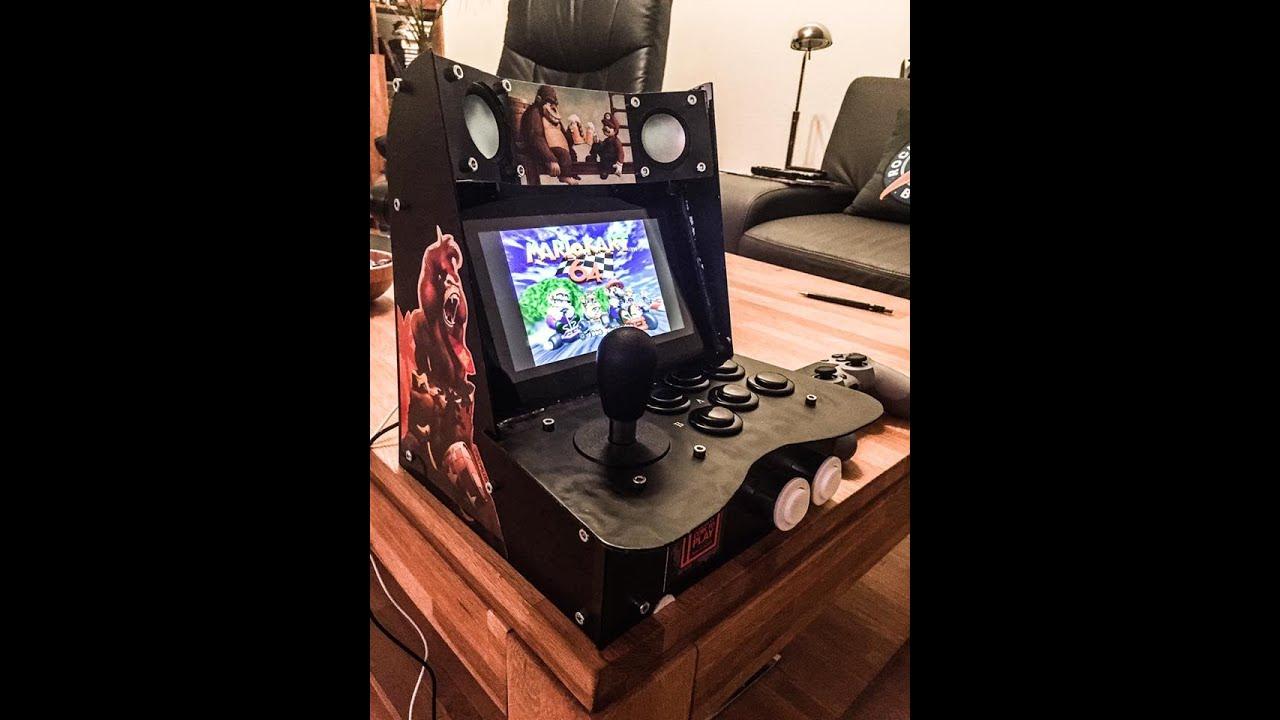 Arcade Machine selfmade Retropie (HD - YouTube