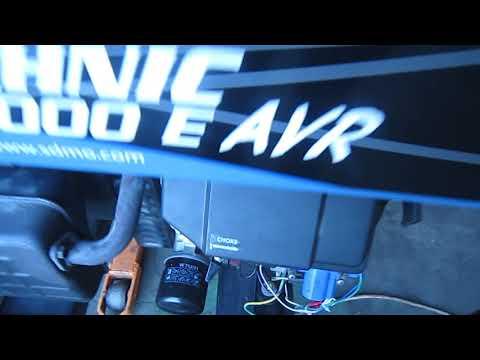 Бензиновый генератор SDMO Technic 7000E AVR дает низкое напряжение
