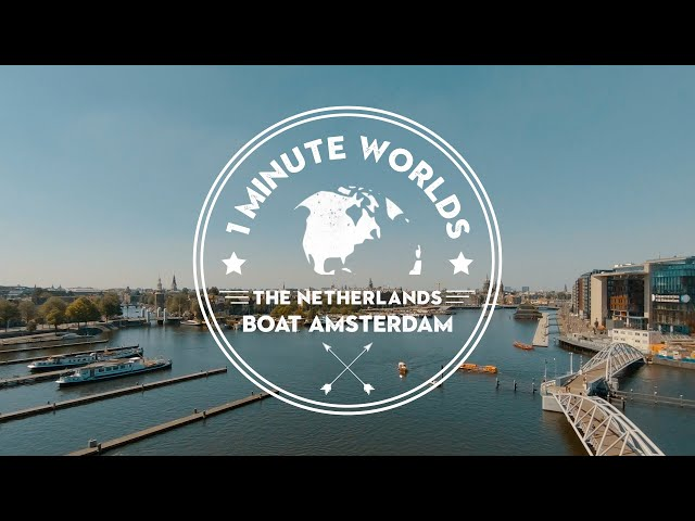 THE NETHERLANDS 🌍 BOAT AMSTERDAM CANAL CRUISES