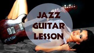[Уроки джазовой гитары]  - Шагающий бас(Идеальное Чувство Ритма http://guitar-academy.ru/3/ Курс