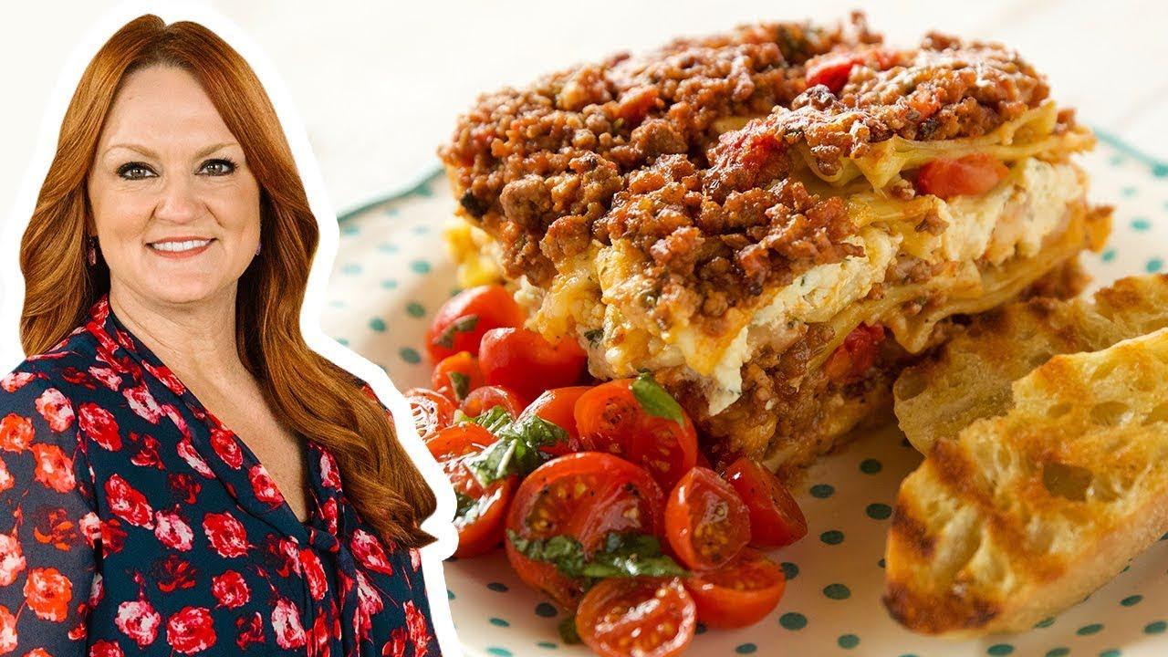 The Pioneer Woman Makes Loaf Pan Lasagna   The Pioneer Woman   Food Network