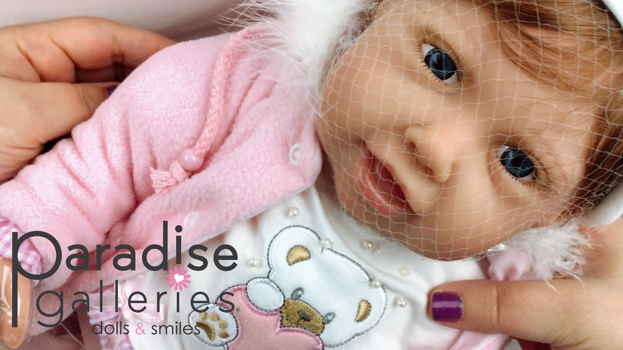 a7e309379f1c Paradise Galleries Cuddle Bear Bella Doll Unboxing. Sweetheart Babies