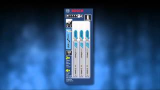 Bosch Power Tools - Jiġsaw Blades Product Video