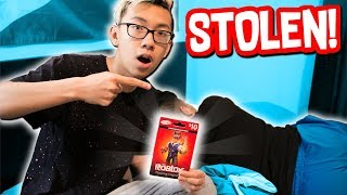 Video I STOLE HIS ROBUX CARDS WHEN HE WAS SLEEPING!! (Roblox IRL) download MP3, 3GP, MP4, WEBM, AVI, FLV Oktober 2018
