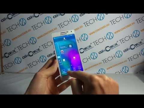 Samsung Galaxy A5 Android bemutató videó