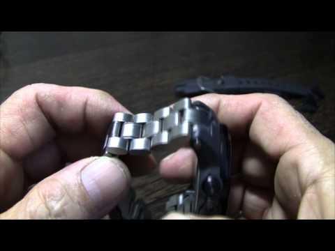 Casio PRW-3000-1E Замена ремешка на браслет